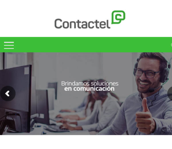 call center sitio web